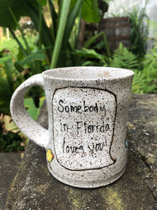 Somebody in Florida Loves You Mug 2
