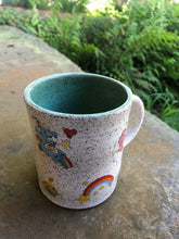 Load image into Gallery viewer, Vintage Care Bear Mug with Green Interior