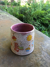 Load image into Gallery viewer, Vintage Care Bear Mug with Pink Interior