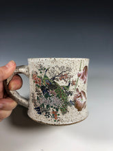 Load image into Gallery viewer, Peacock Gold Lustre Ceramic Mug