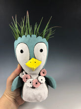Load image into Gallery viewer, Penguin Ceramic Succulent Planter // Adorable Penguin Pothead