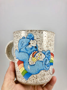 Wish Bear Vintage Inspired Ceramic Mug