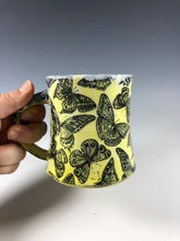 Load image into Gallery viewer, Butterfly Mug in Yellow
