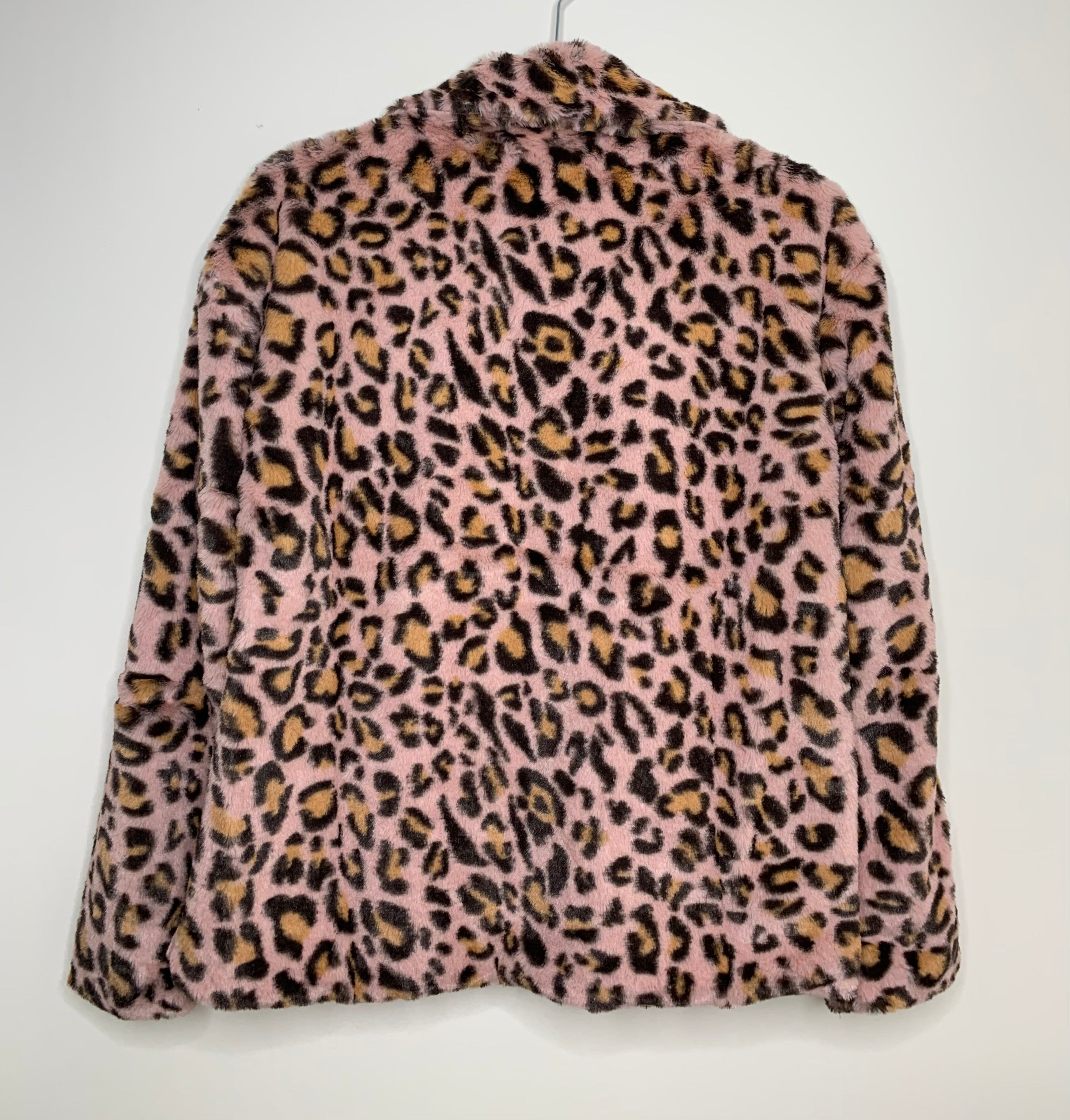 Wild One - Pink Leopard Coat