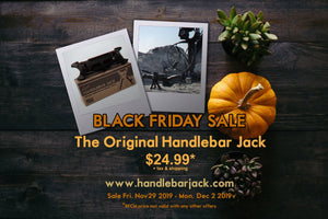 Black Friday Cyber Monday Sale - $24.99!!! | Handlebar Jack