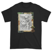 """delete me if u care"" (ness, abbot and costello) tee"