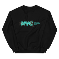 """my heart is holding on"" (pokey, NYSE after hurricane sandy) sweatshirt"