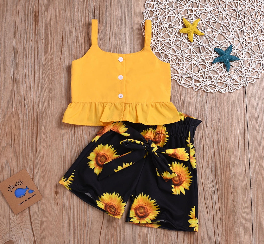 Sunflower children's set 🌻