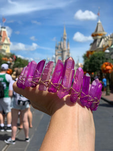 Purple healing custom crown (polished)