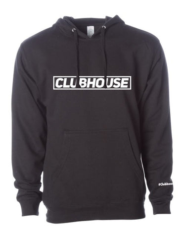 Classic Clubhouse Hoodie - Black