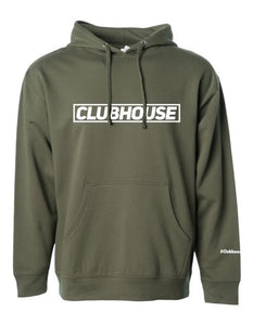 Classic Clubhouse Hoodie - Army Green