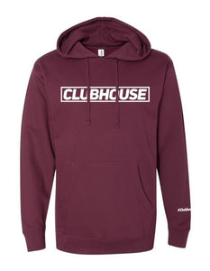 Classic Clubhouse Hoodie - Burgundy