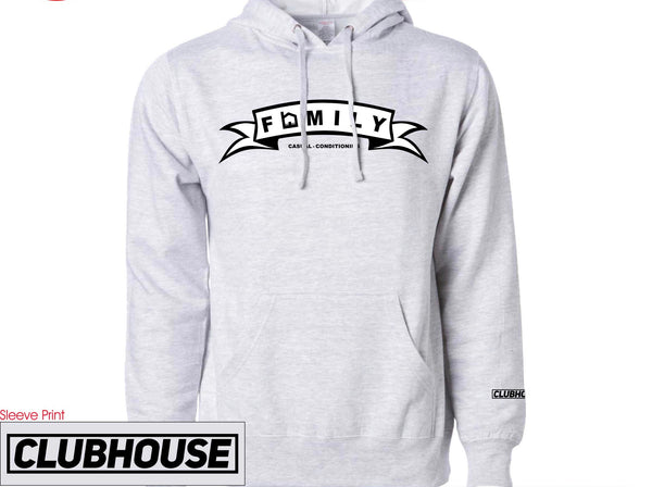 FAMILY Banner Hoodie -Gray