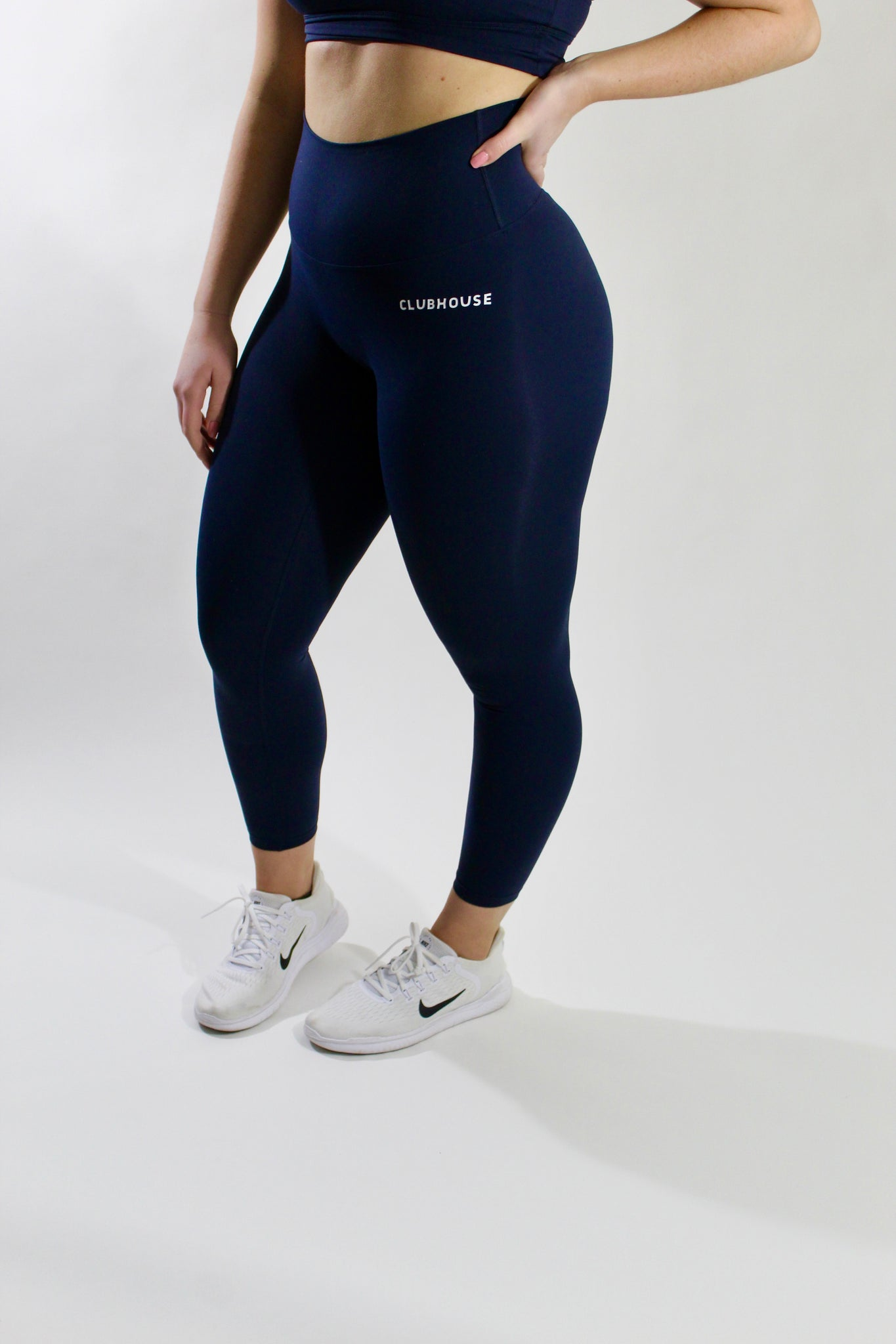 Fierce Leggings - Navy