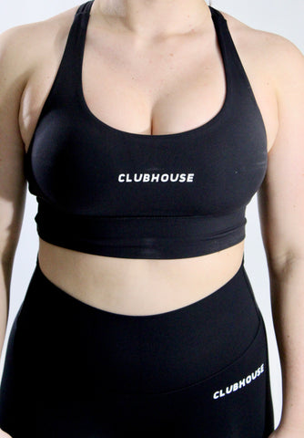 Fierce Sports Bra - Black