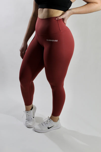 Fierce Leggings - Persian Red