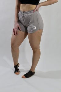 Active Jogger Shorts - Clay Gray