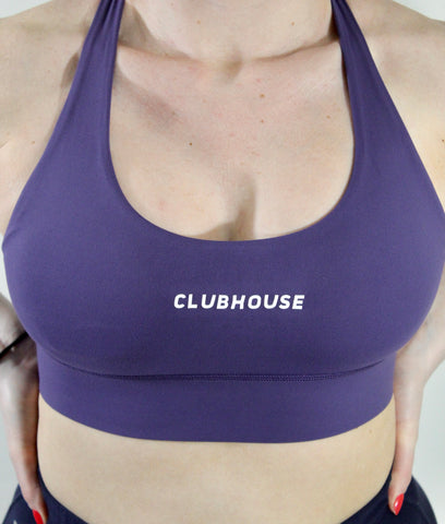 Fierce Sports Bra - Violet