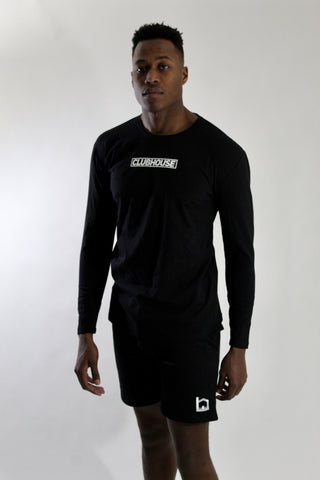 Activate Long Sleeve T-shirt - Black