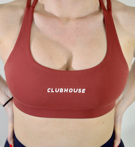 Fierce Sports Bra - Persian Red
