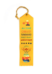 #1 Award Ribbon