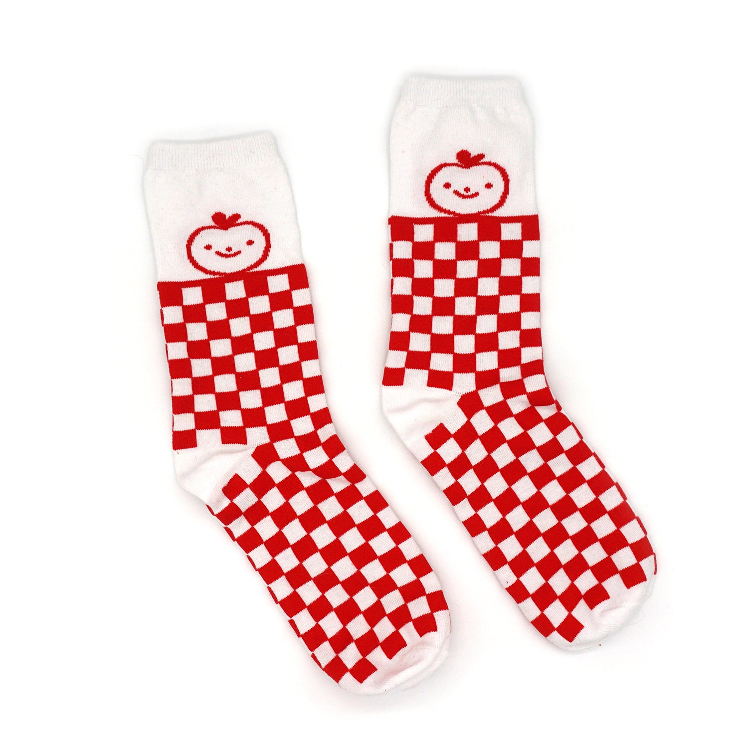 Apple Picnic Socks
