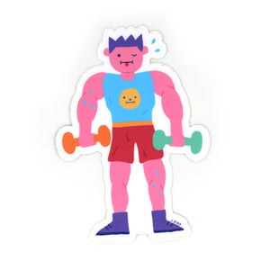 Beefy Boy Sticker