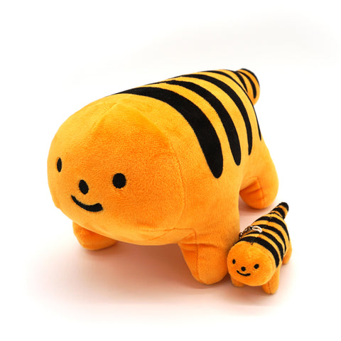 Big Cheese Puff Tiger Plush