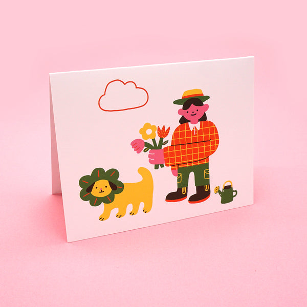 Dog Walkers Greeting Card Set