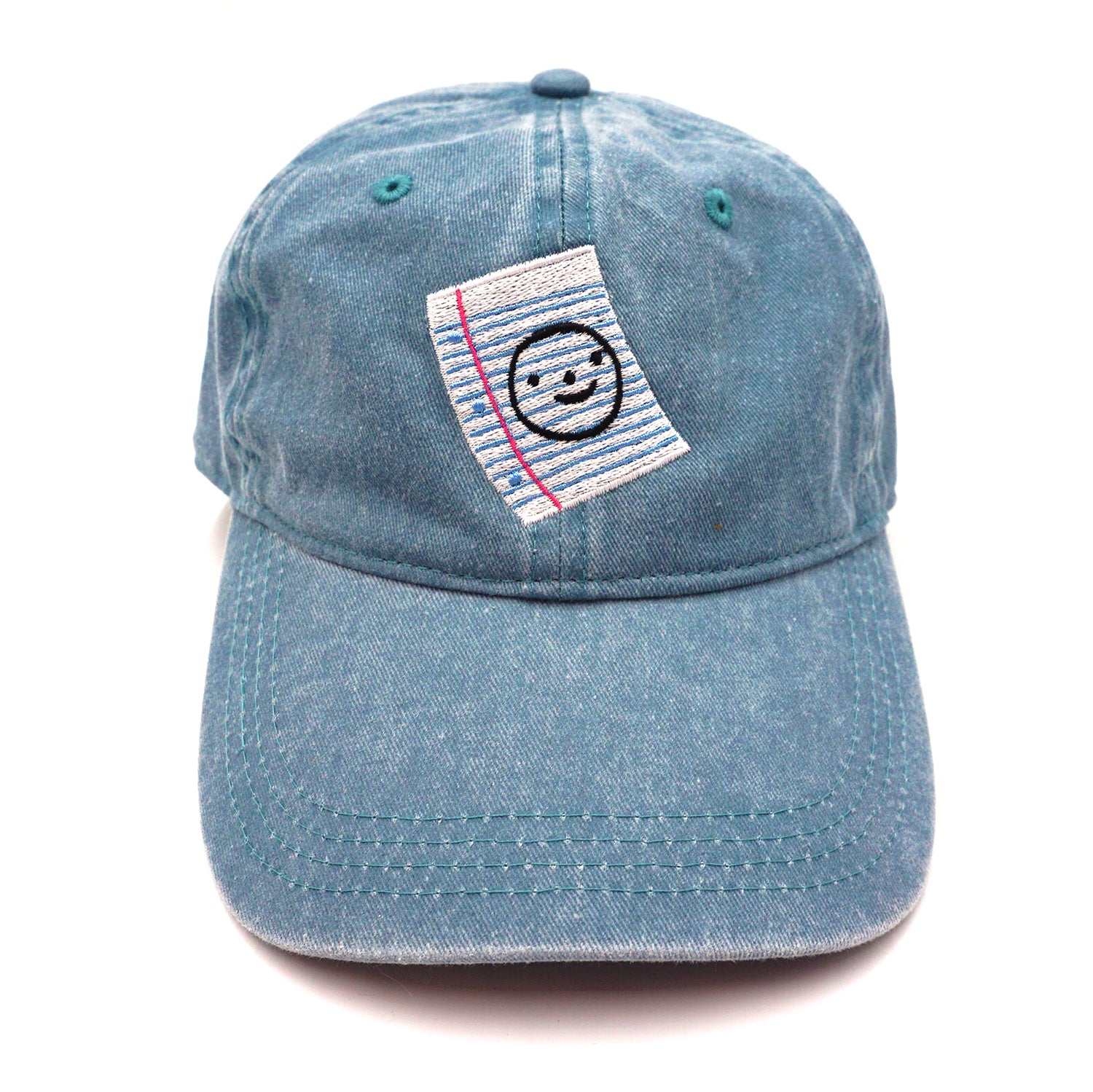 Notebook Paper Baseball Cap