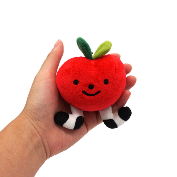 Lil Apple Plush Keychain