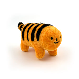Cheese Puff Tiger Keychain