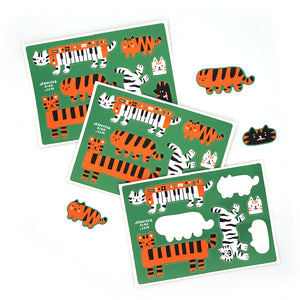 Tiger Sticker Sheet