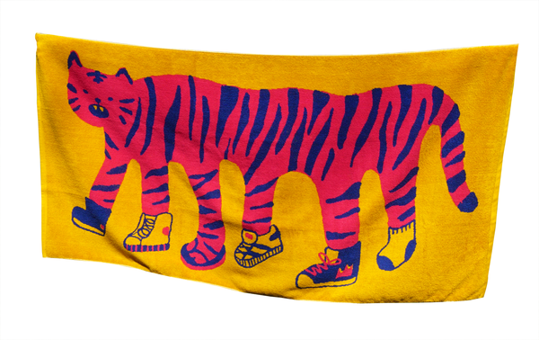 Tiger Shoes Towel
