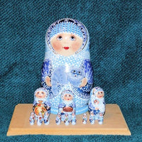 13 Piece Blue Babushka