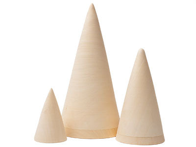 3 Piece Cone Blanks