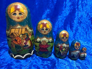 5 Piece Masha and the Bear Matryoshka