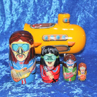 5 Piece Yellow Submarine and Friends