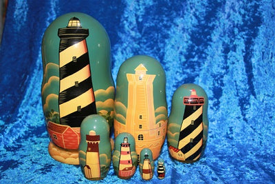7 Piece Lighthouses