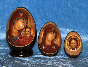 3 Piece Egg Iconography