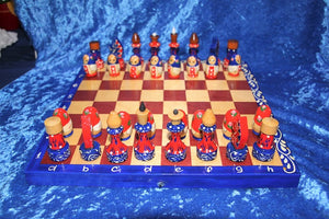 Matryoshka Chess Set