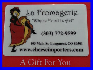 Cheese Importers Gift Card