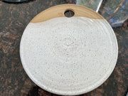Pottery Cheese Plates