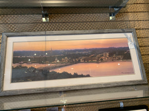 Leiss An Evening in Stillwater Signed limited edition Barnwood