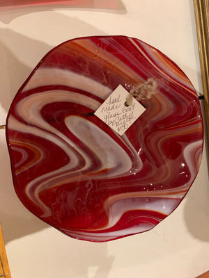 Taylor Fused glass bowl