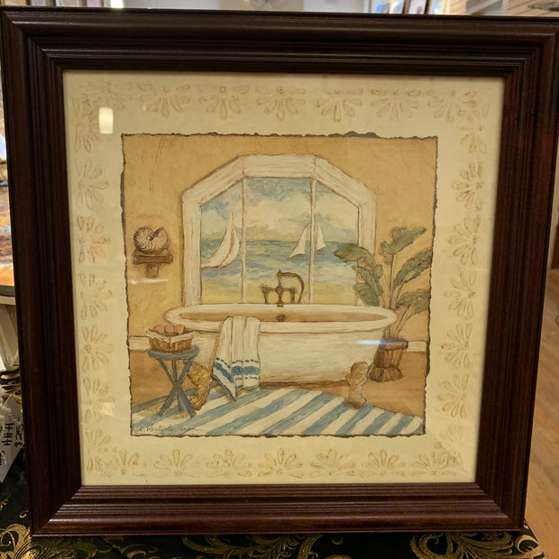 Framed Print Bathtub