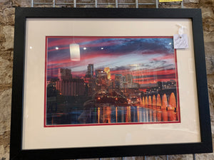 Photographic Print of Minneapolis Skyline