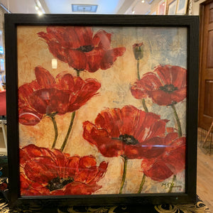 "Donovan Art Print Red ""Poppies"""