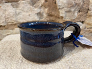 Pottery Espresso size Mugs by Helen Hooper-Hirst in assorted colors