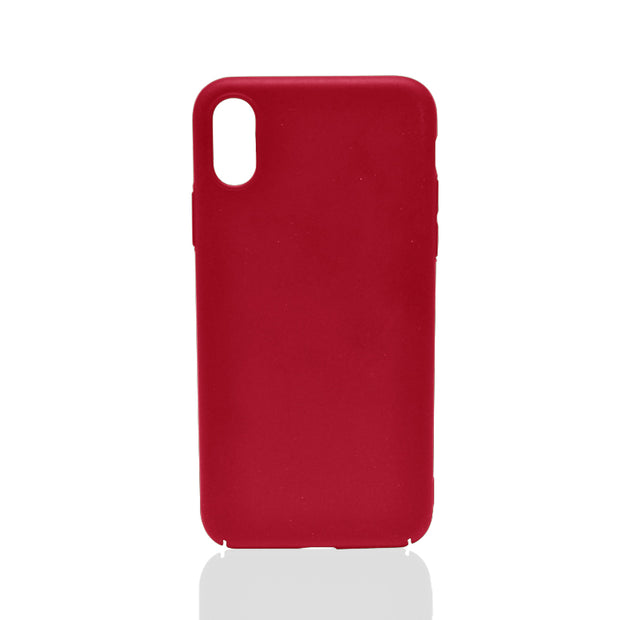 Ultra Thin Red Matte iPhone Case